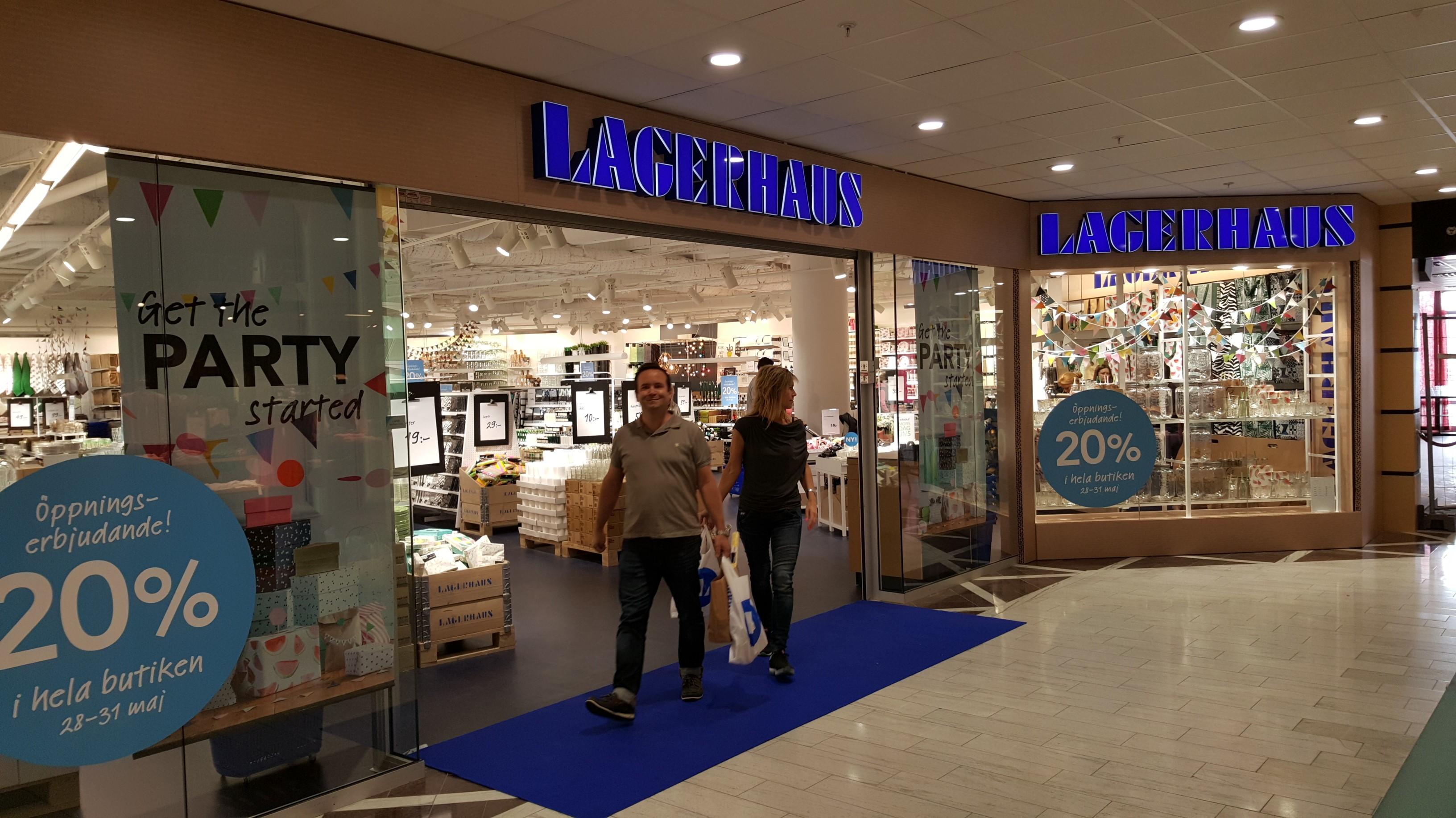 Montage Lagerhaus